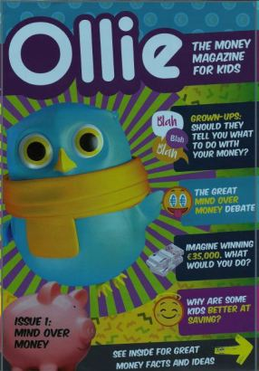 Ollie - the money magazine for kids aged 7 - 11