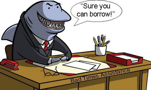 Image result for loan sharks