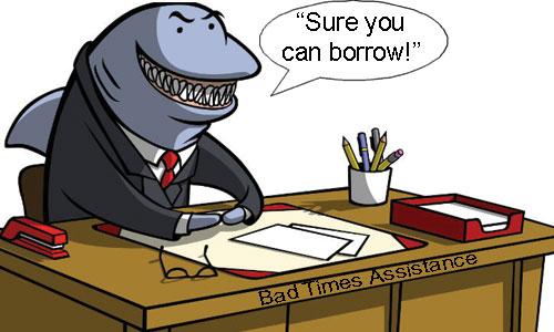 Image result for loan sharks